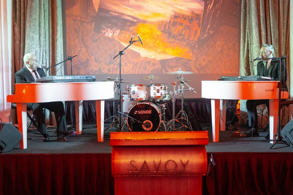 PianoJam XL - Duelling Pianos LIVE at London's Savoy Hotel